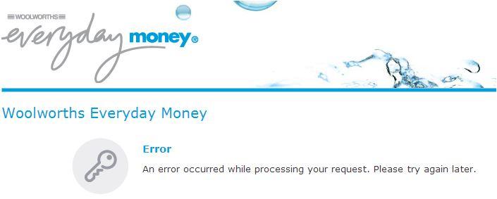 Woolworths error