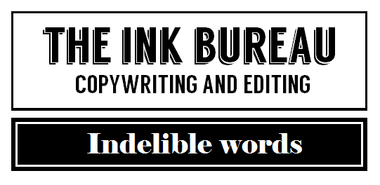 Ink Bureau Logo - indelible words MASTER