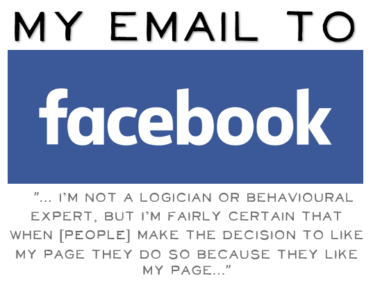 EMail to Facebook tile