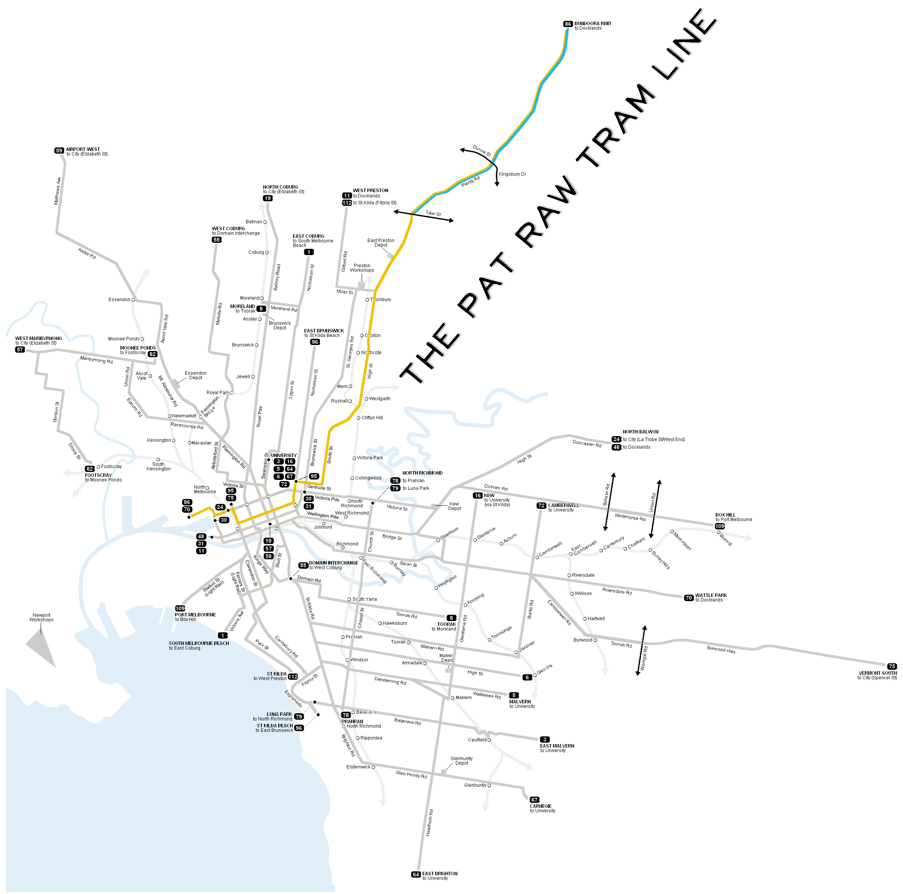Pat Raw Tram Line