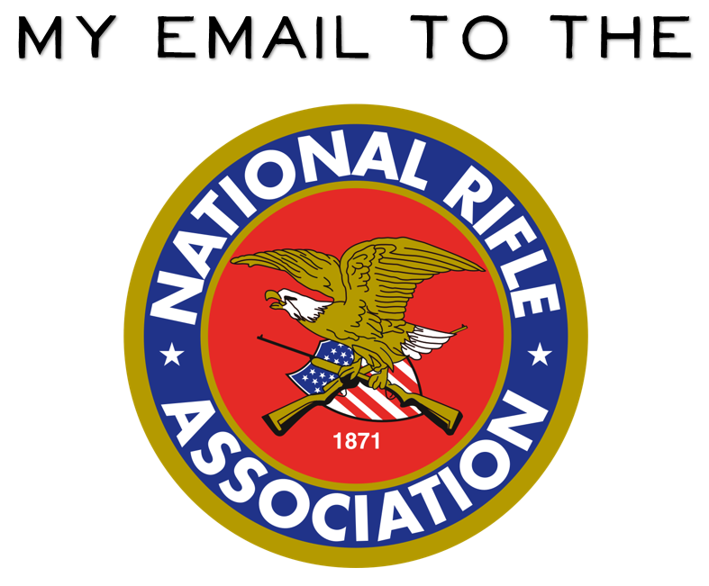 My email to the NRA